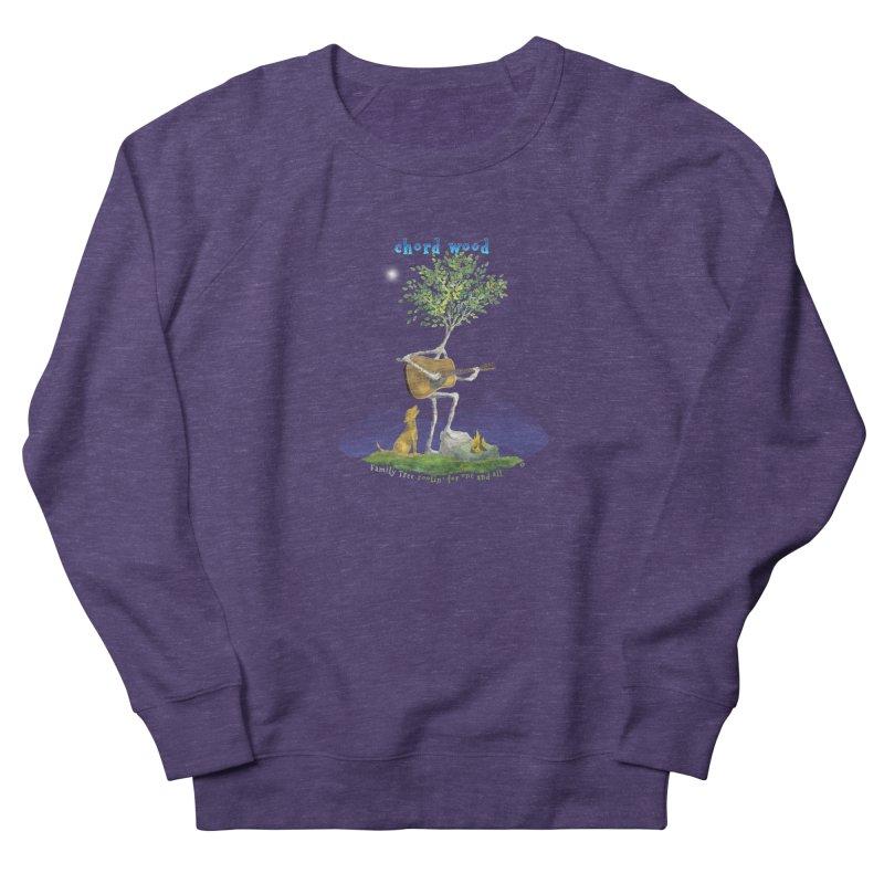half chord wood Men's Sweatshirt by Family Tree Artist Shop