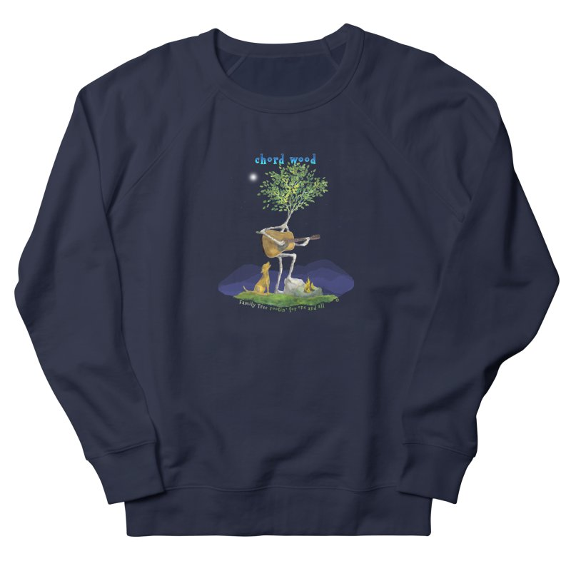 half chord wood Men's Sweatshirt by Family Tree Artist Shop