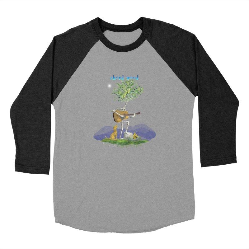 half chord wood Women's Baseball Triblend Longsleeve T-Shirt by Family Tree Artist Shop