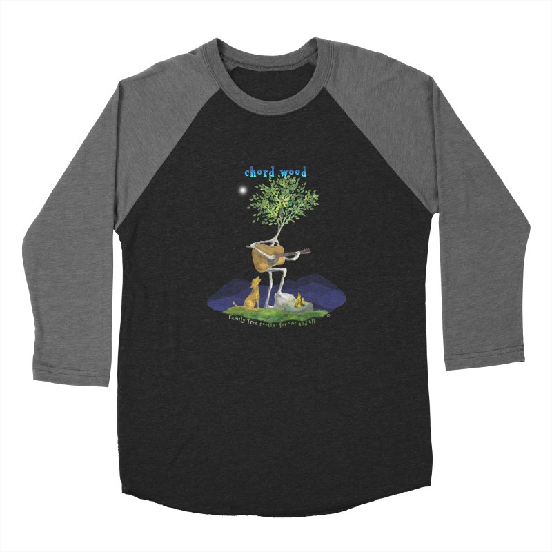 half chord wood Men's Baseball Triblend Longsleeve T-Shirt by Family Tree Artist Shop