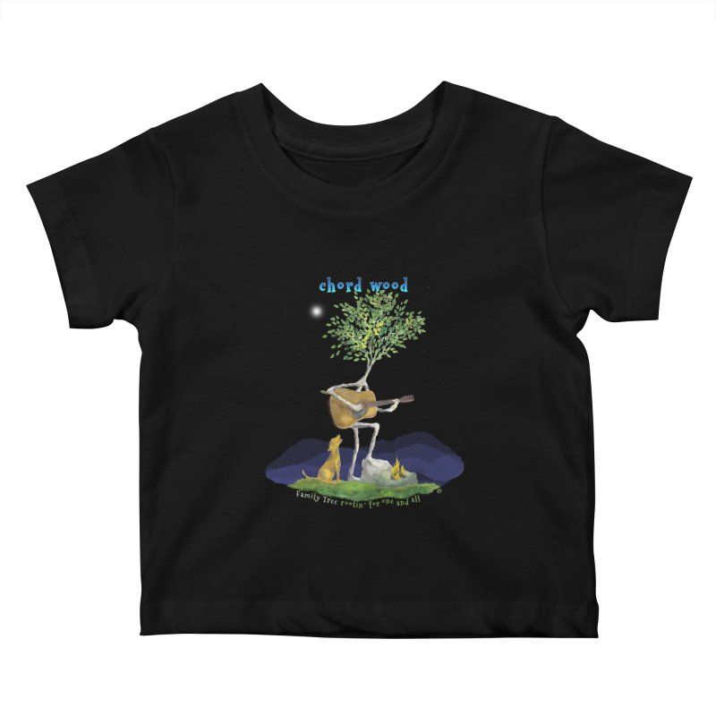 half chord wood Kids Baby T-Shirt by Family Tree Artist Shop