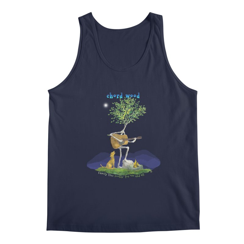 half chord wood Men's Tank by Family Tree Artist Shop