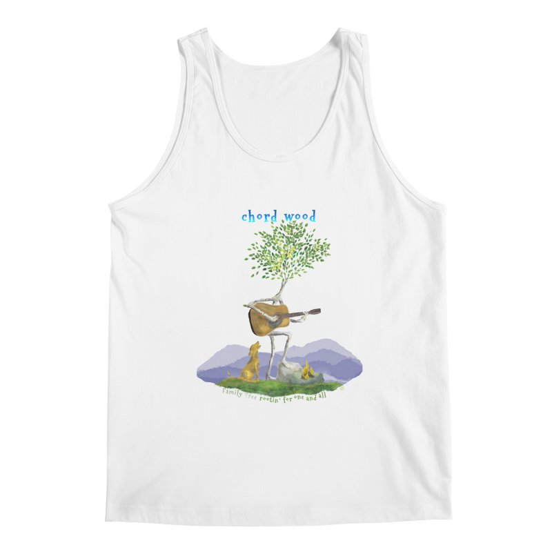 half chord wood Men's Tank by Family Tree Artist Shop