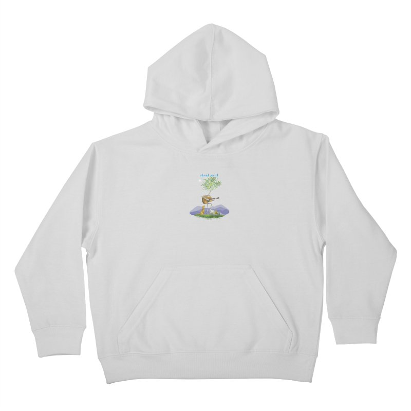 half chord wood Kids Pullover Hoody by Family Tree Artist Shop