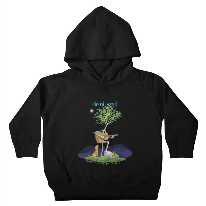 half chord wood Kids Toddler Pullover Hoody by Family Tree Artist Shop