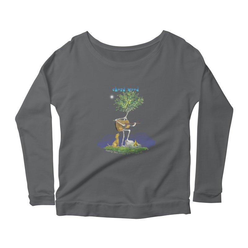 half chord wood Women's Longsleeve T-Shirt by Family Tree Artist Shop