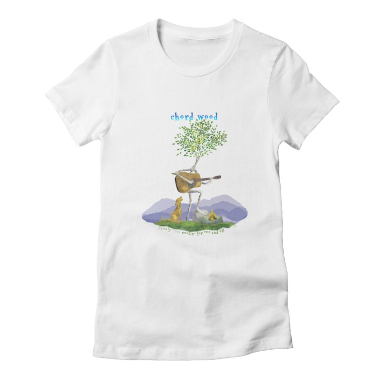 half chord wood Women's T-Shirt by Family Tree Artist Shop