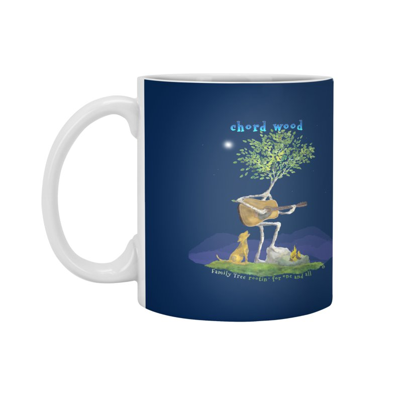half chord wood Accessories Mug by Family Tree Artist Shop