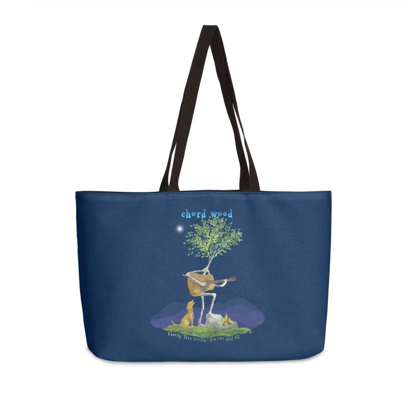 half chord wood Accessories Weekender Bag Bag by Family Tree Artist Shop