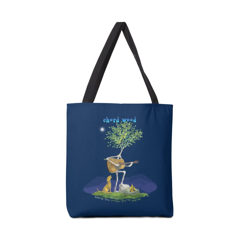 half chord wood Accessories Bag by Family Tree Artist Shop