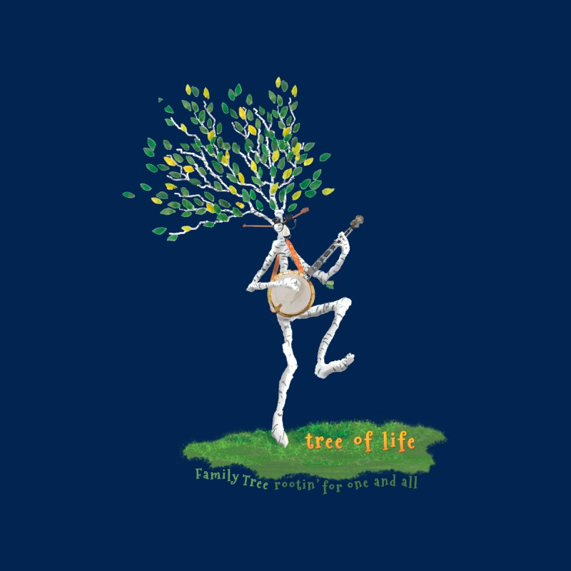 Tree of Life Kids T-Shirt by Family Tree Artist Shop