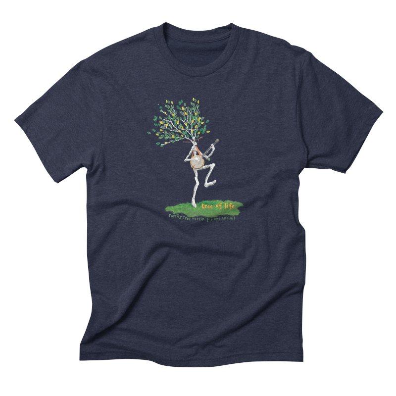 Tree of Life Men's T-Shirt by Family Tree Artist Shop
