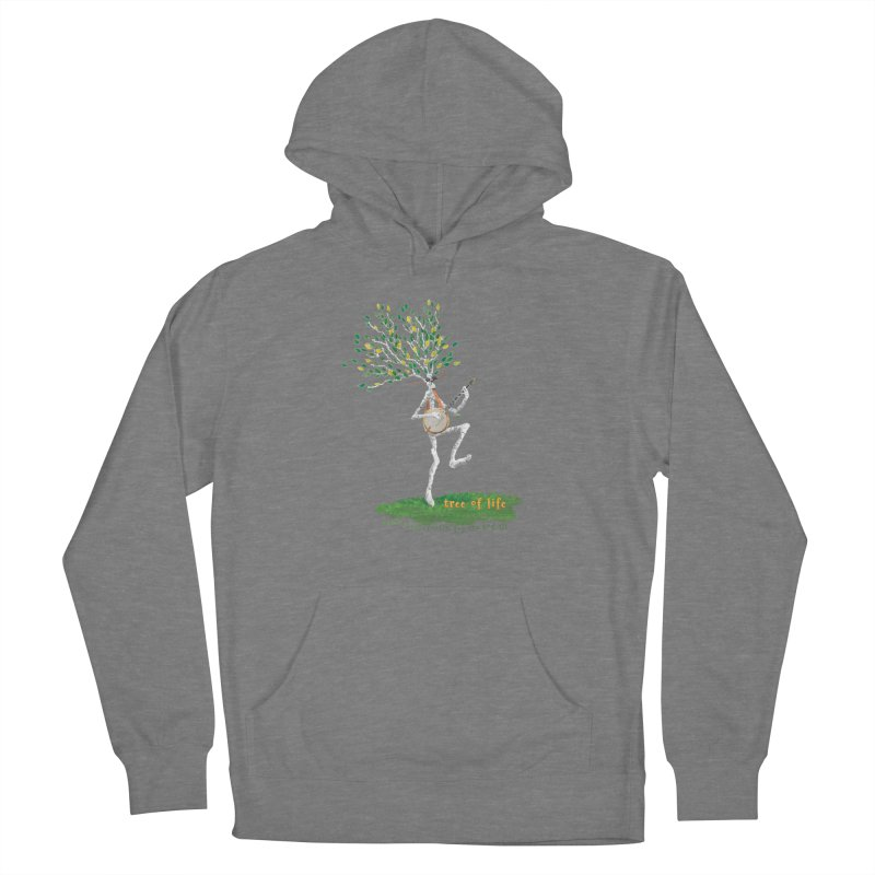 Tree of Life Men's French Terry Pullover Hoody by Family Tree Artist Shop