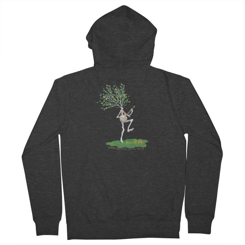 Tree of Life Women's Zip-Up Hoody by Family Tree Artist Shop