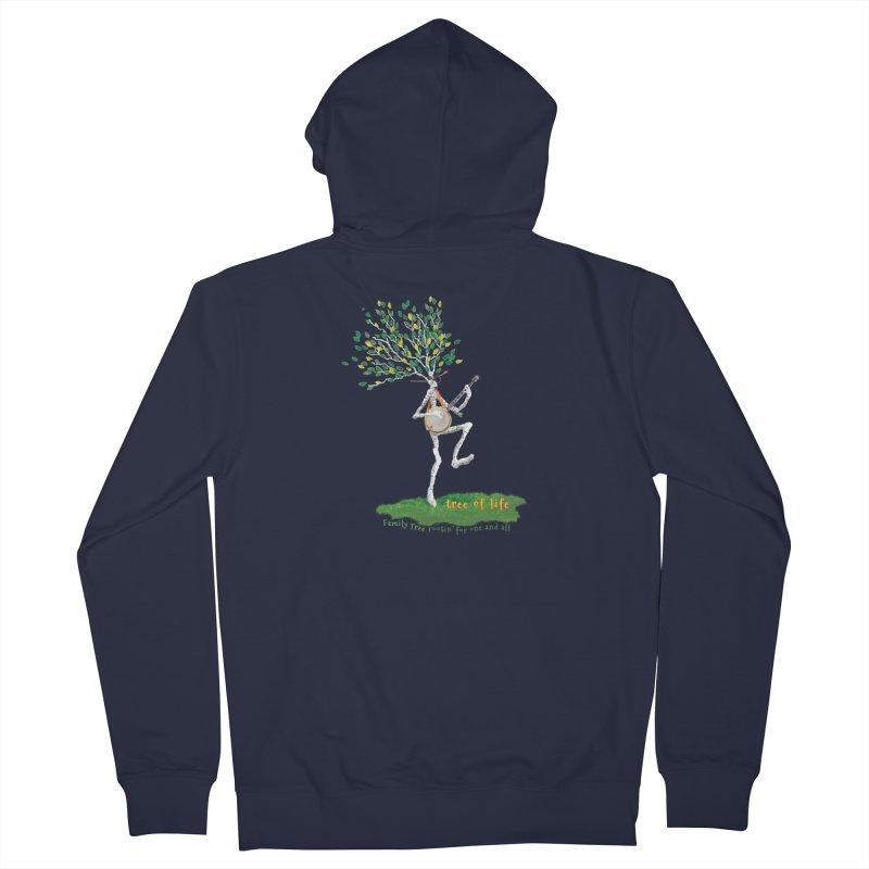 Tree of Life Men's Zip-Up Hoody by Family Tree Artist Shop