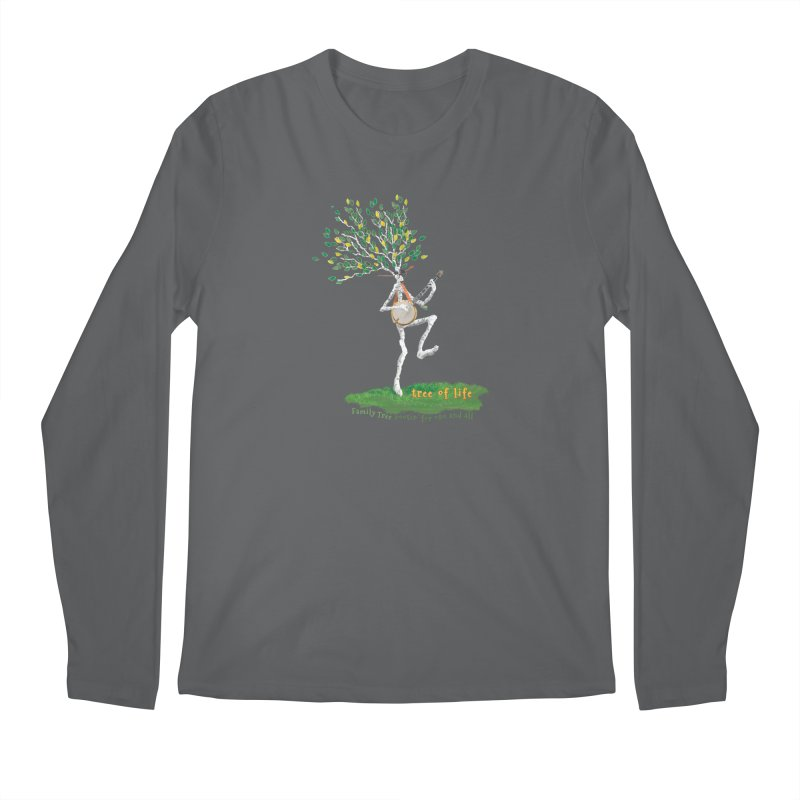 Tree of Life Men's Longsleeve T-Shirt by Family Tree Artist Shop