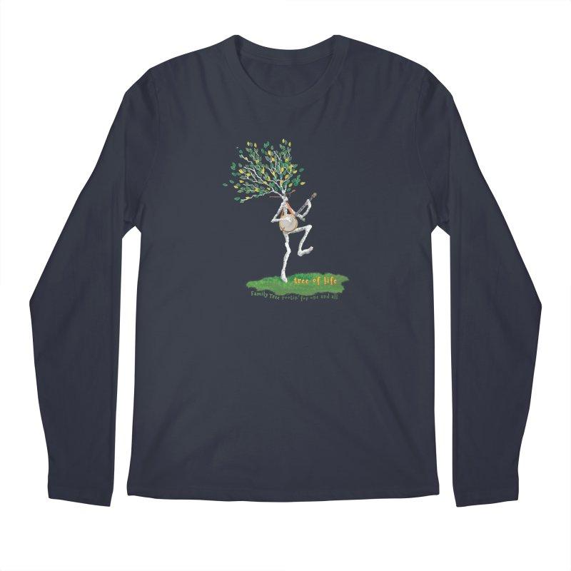 Tree of Life Men's Regular Longsleeve T-Shirt by Family Tree Artist Shop