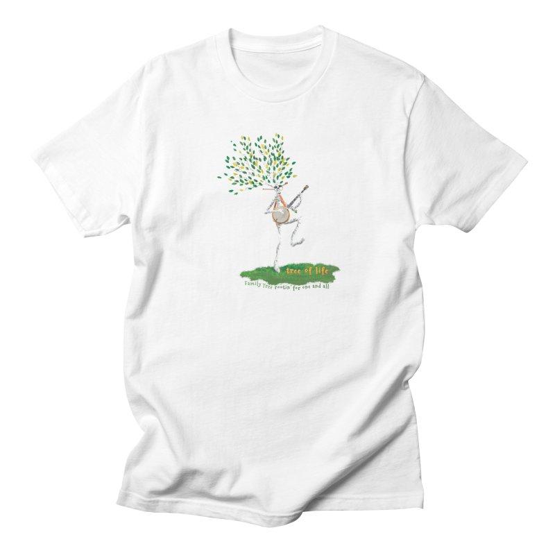 Tree of Life Men's Regular T-Shirt by Family Tree Artist Shop