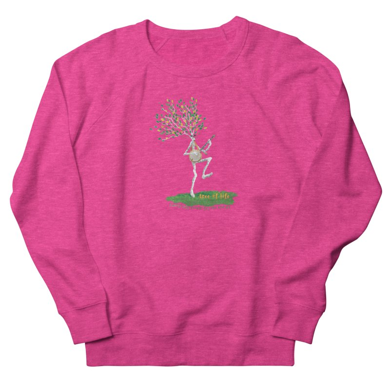 Tree of Life Women's French Terry Sweatshirt by Family Tree Artist Shop