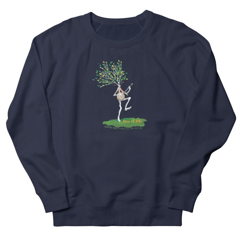 Tree of Life Men's Sweatshirt by Family Tree Artist Shop