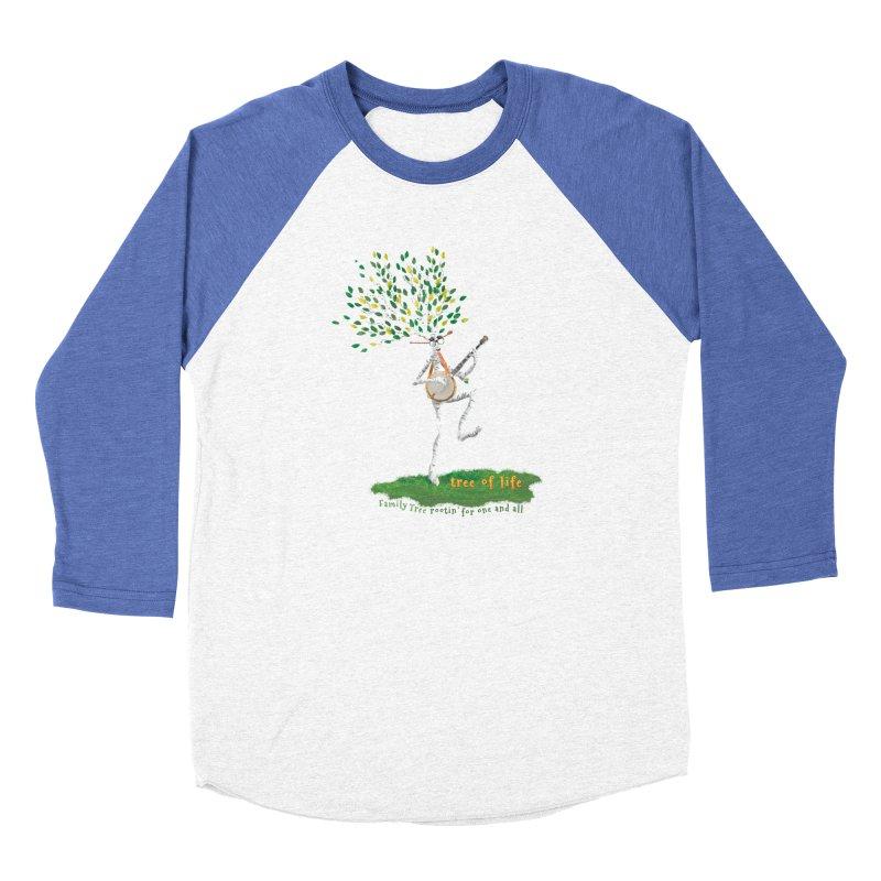 Tree of Life Women's Baseball Triblend Longsleeve T-Shirt by Family Tree Artist Shop