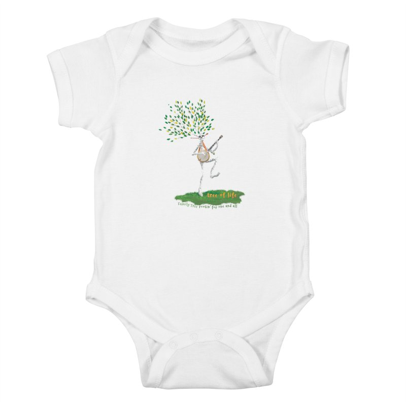 Tree of Life Kids Baby Bodysuit by Family Tree Artist Shop