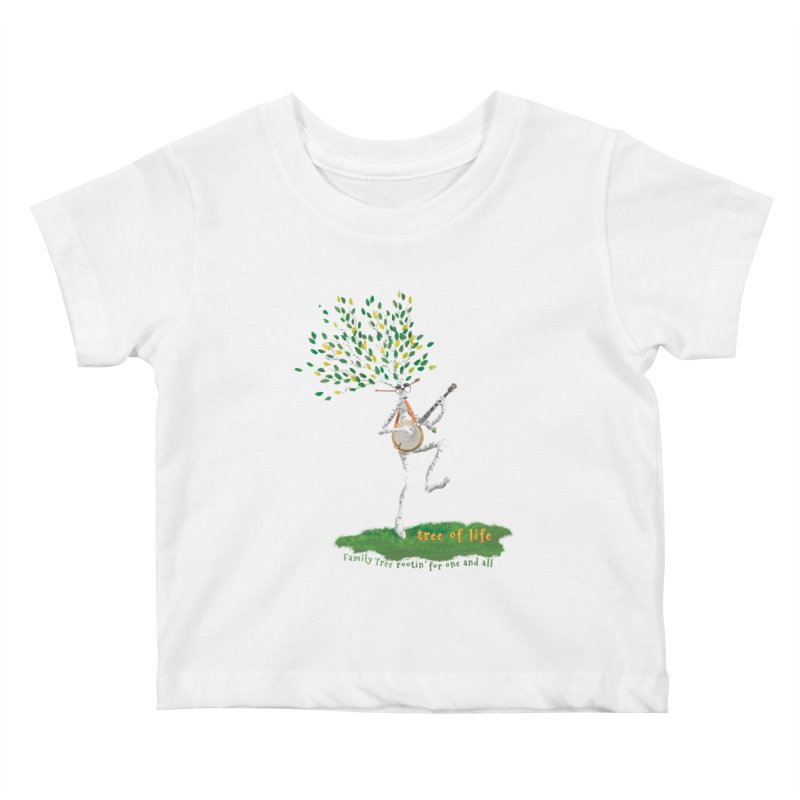Tree of Life Kids Baby T-Shirt by Family Tree Artist Shop