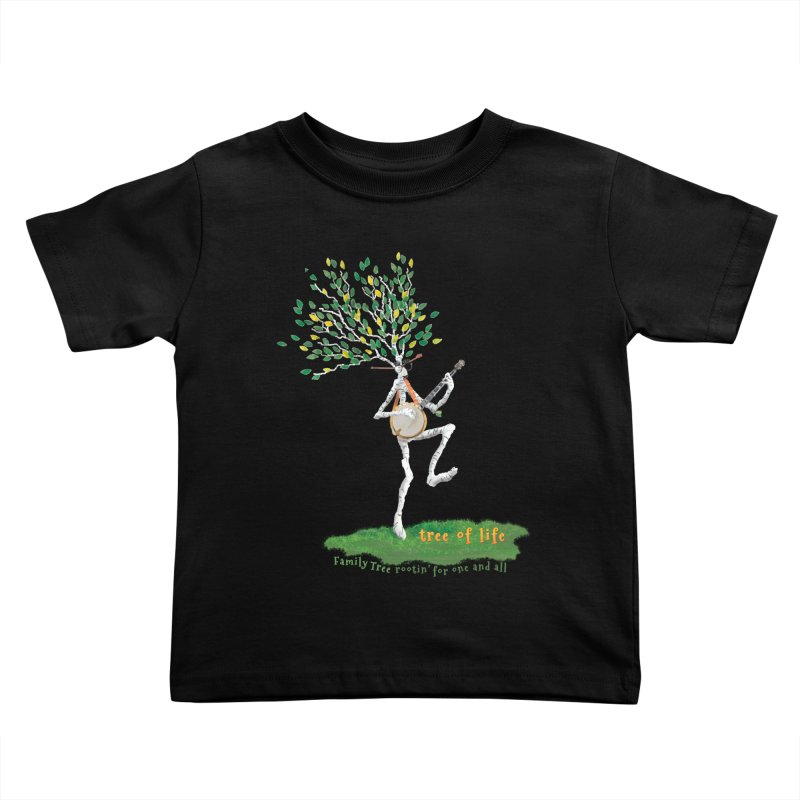 Tree of Life Kids Toddler T-Shirt by Family Tree Artist Shop
