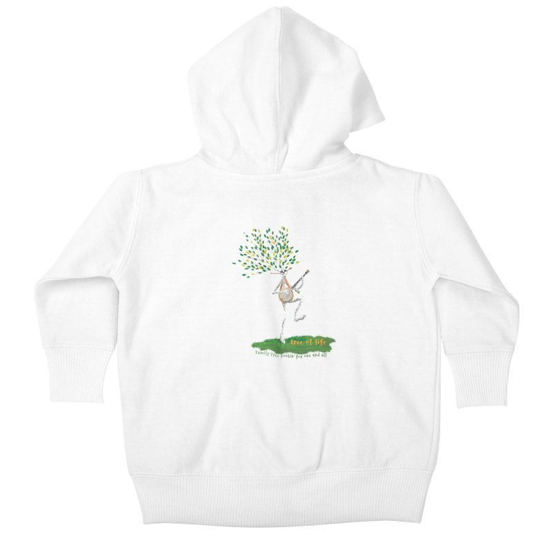 Tree of Life Kids Baby Zip-Up Hoody by Family Tree Artist Shop