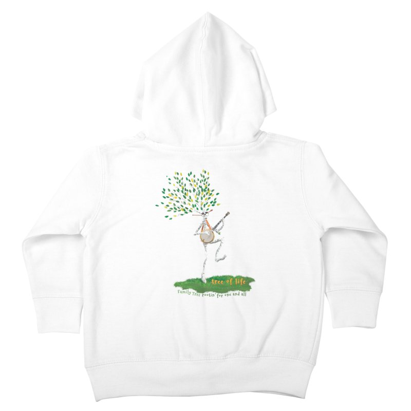 Tree of Life Kids Toddler Zip-Up Hoody by Family Tree Artist Shop