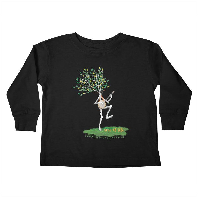 Tree of Life Kids Toddler Longsleeve T-Shirt by Family Tree Artist Shop