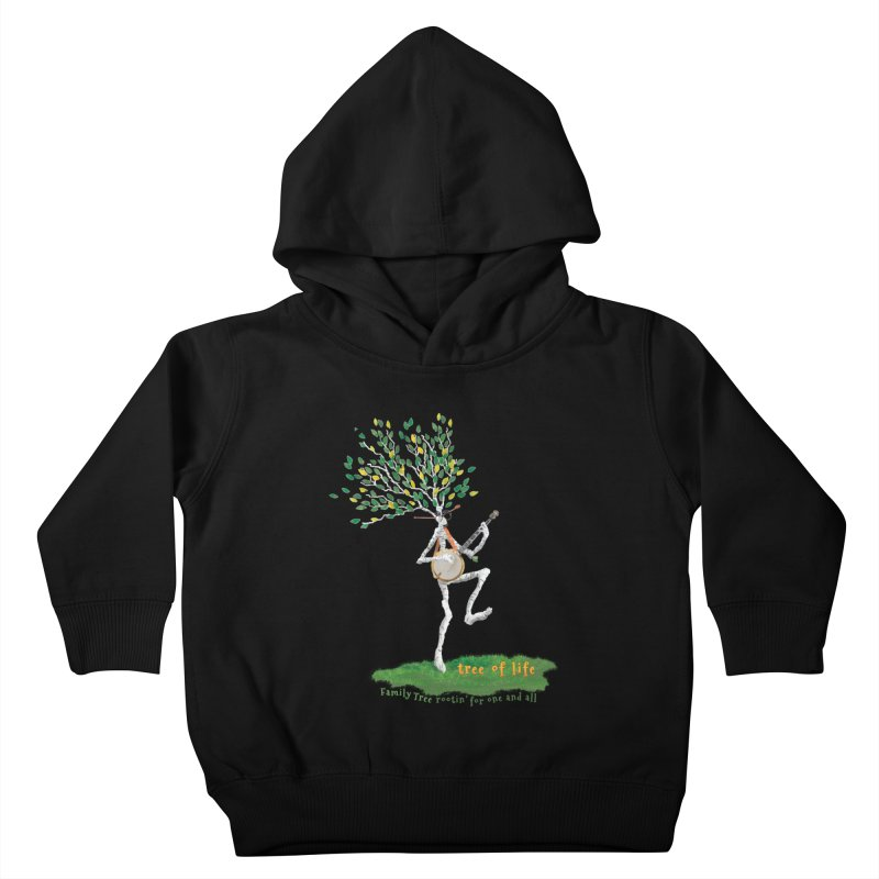 Tree of Life Kids Toddler Pullover Hoody by Family Tree Artist Shop