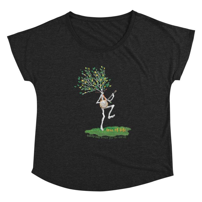 Tree of Life Women's Dolman Scoop Neck by Family Tree Artist Shop