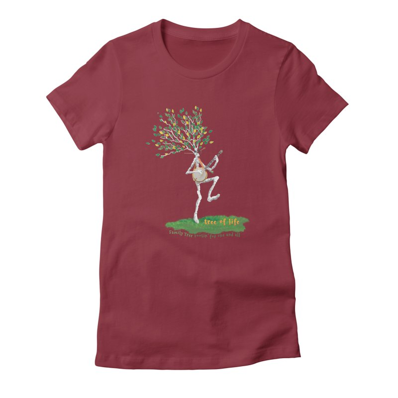 Tree of Life Women's T-Shirt by Family Tree Artist Shop