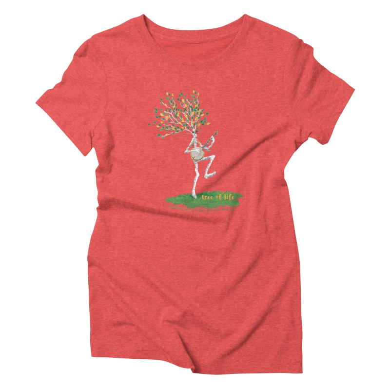 Tree of Life Women's Triblend T-Shirt by Family Tree Artist Shop
