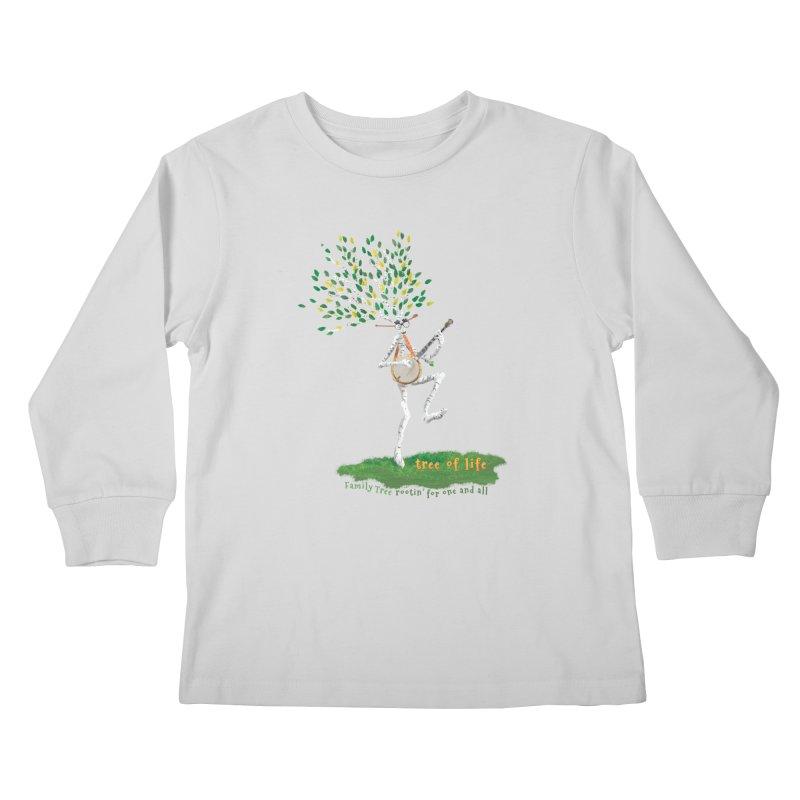 Tree of Life Kids Longsleeve T-Shirt by Family Tree Artist Shop