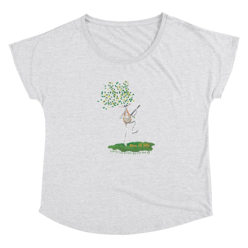 Tree of Life Women's Scoop Neck by Family Tree Artist Shop