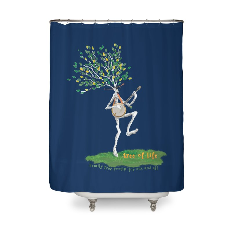 Tree of Life Home Shower Curtain by Family Tree Artist Shop