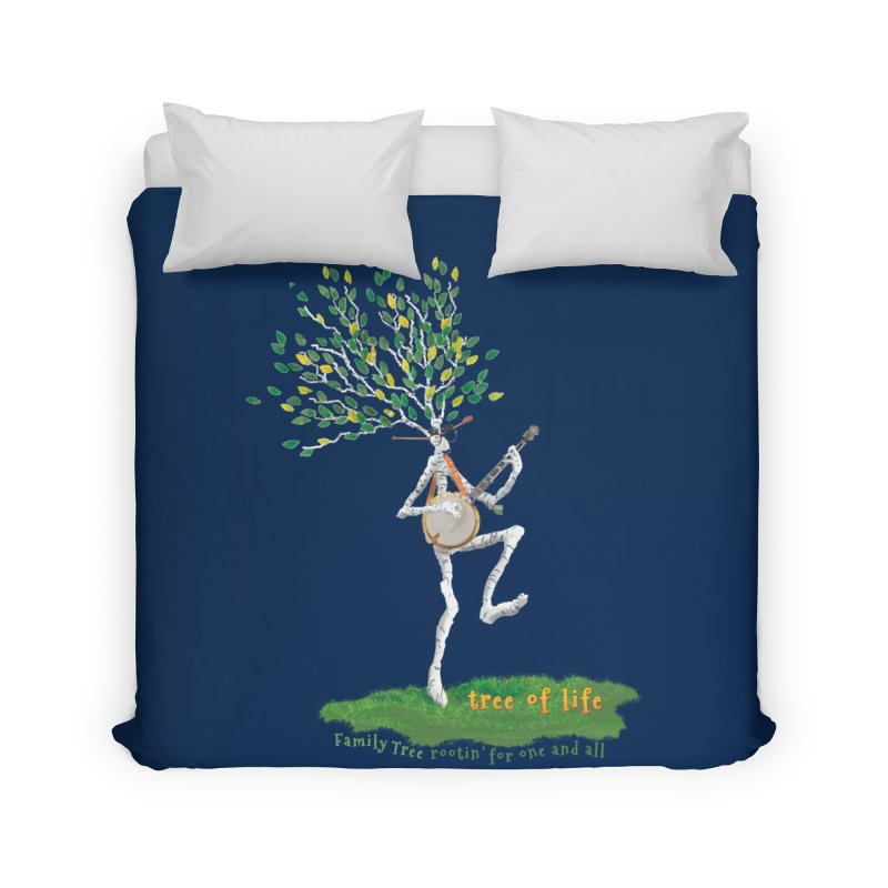 Tree of Life Home Duvet by Family Tree Artist Shop