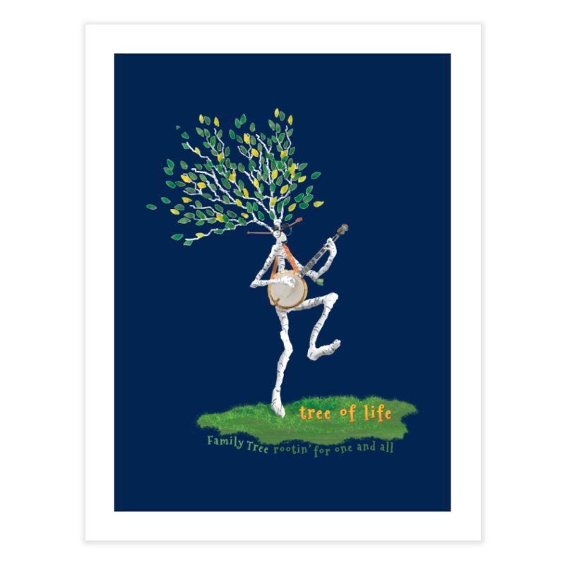 Tree of Life Home Fine Art Print by Family Tree Artist Shop