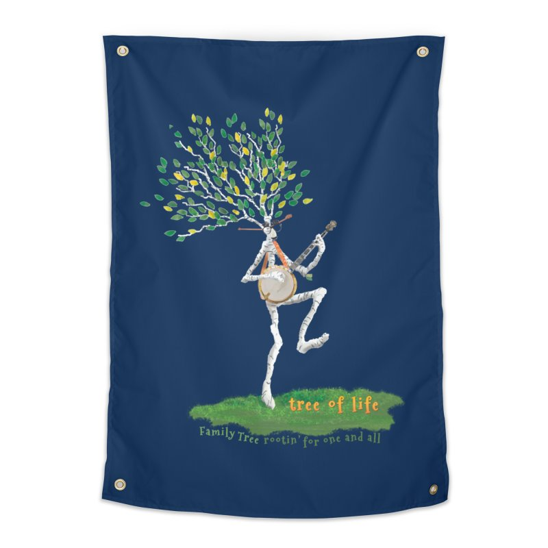 Tree of Life Home Tapestry by Family Tree Artist Shop
