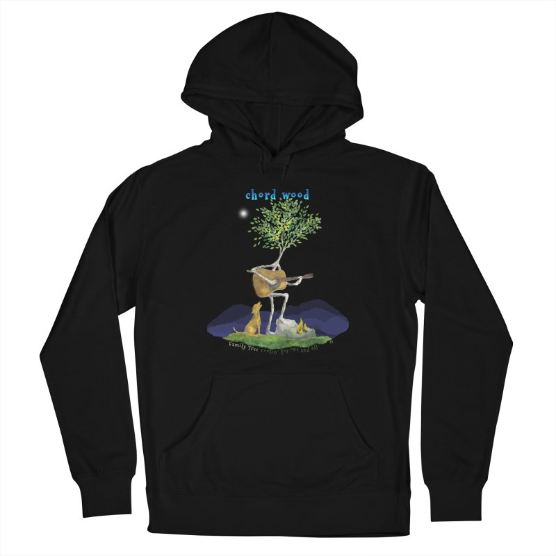 Chord Wood Men's Pullover Hoody by Family Tree Artist Shop