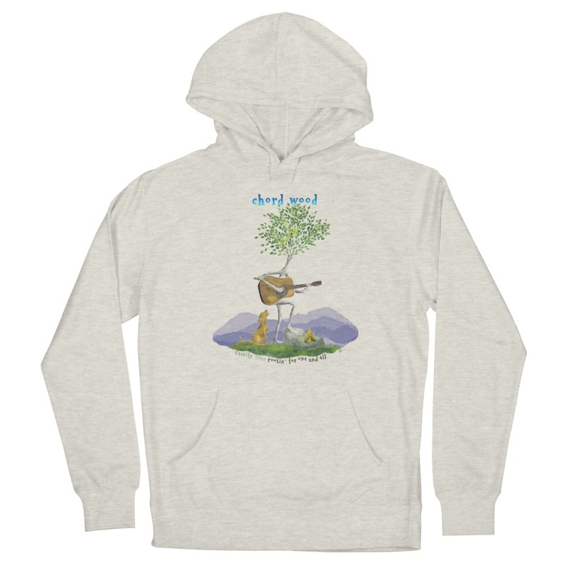 Chord Wood Women's Pullover Hoody by Family Tree Artist Shop