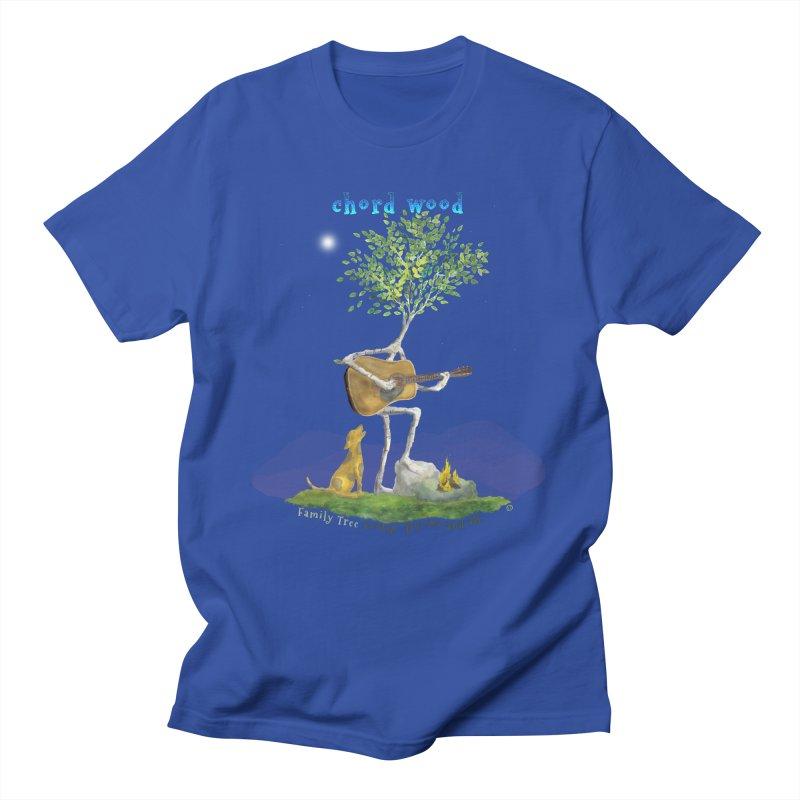 Chord Wood Men's T-Shirt by Family Tree Artist Shop