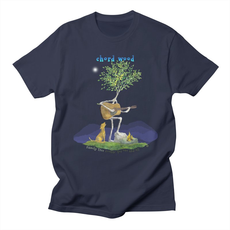 Chord Wood Men's T-Shirt by Family Tree Artist Shop