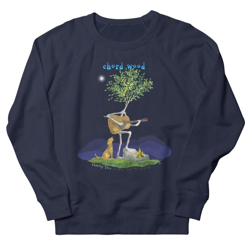 Chord Wood Men's Sweatshirt by Family Tree Artist Shop