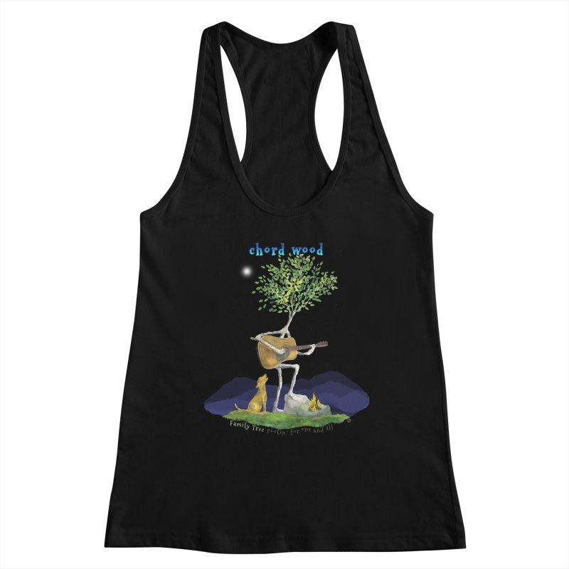 Chord Wood Women's Tank by Family Tree Artist Shop