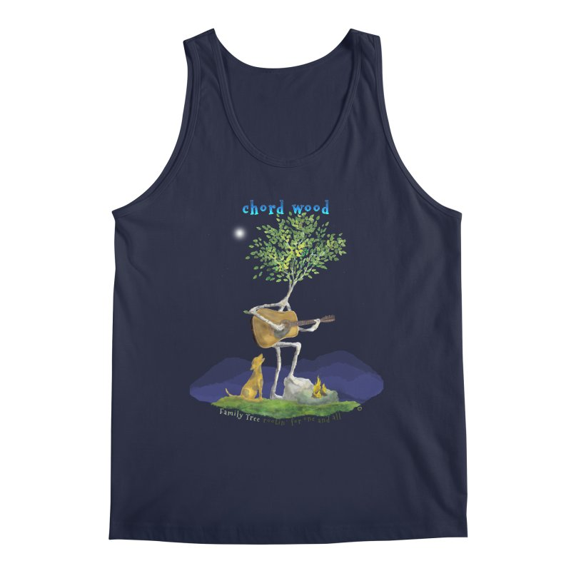 Chord Wood Men's Tank by Family Tree Artist Shop