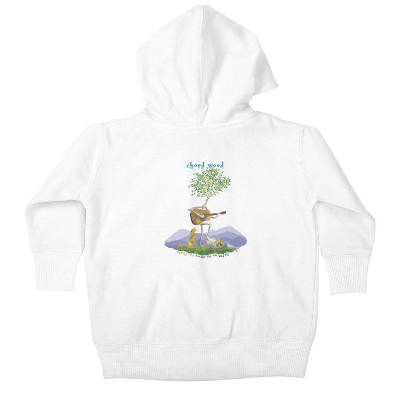 Chord Wood Kids Baby Zip-Up Hoody by Family Tree Artist Shop