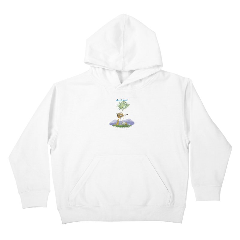 Chord Wood Kids Pullover Hoody by Family Tree Artist Shop